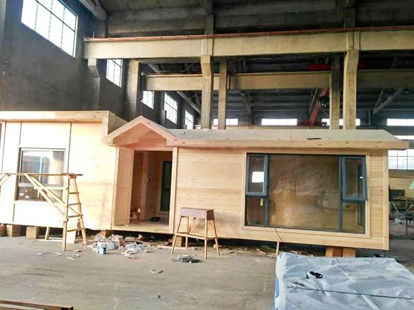 凤凰栖木屋建造-3