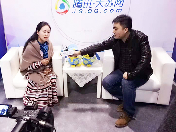腾讯大苏网采访凤凰栖董事长