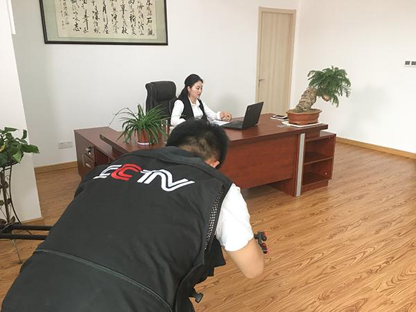 凤凰栖央视采访