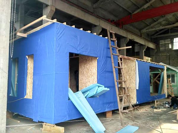 凤凰栖木屋建造-1