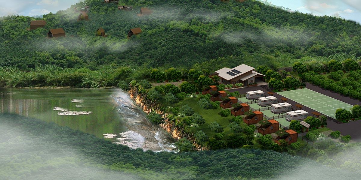 红沙湾木屋酒店