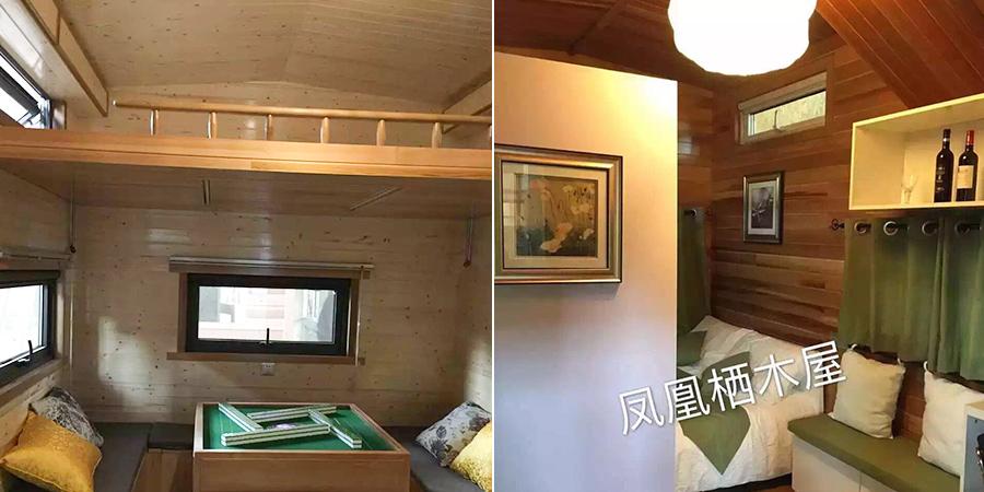 经典A款移动木屋YDZP-002