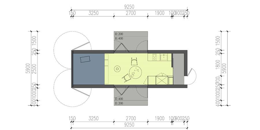 LOFT移动木屋YDZP-011