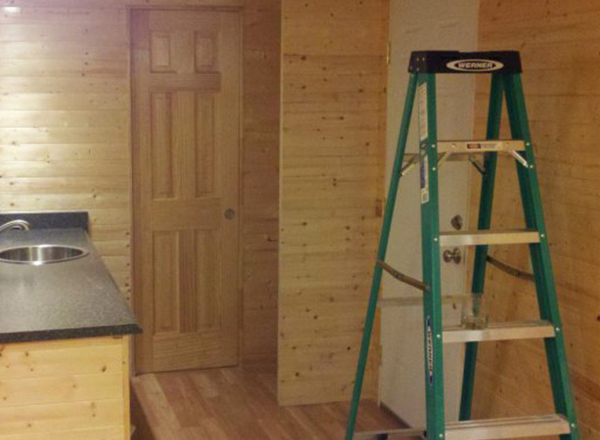 移动木屋制作流程