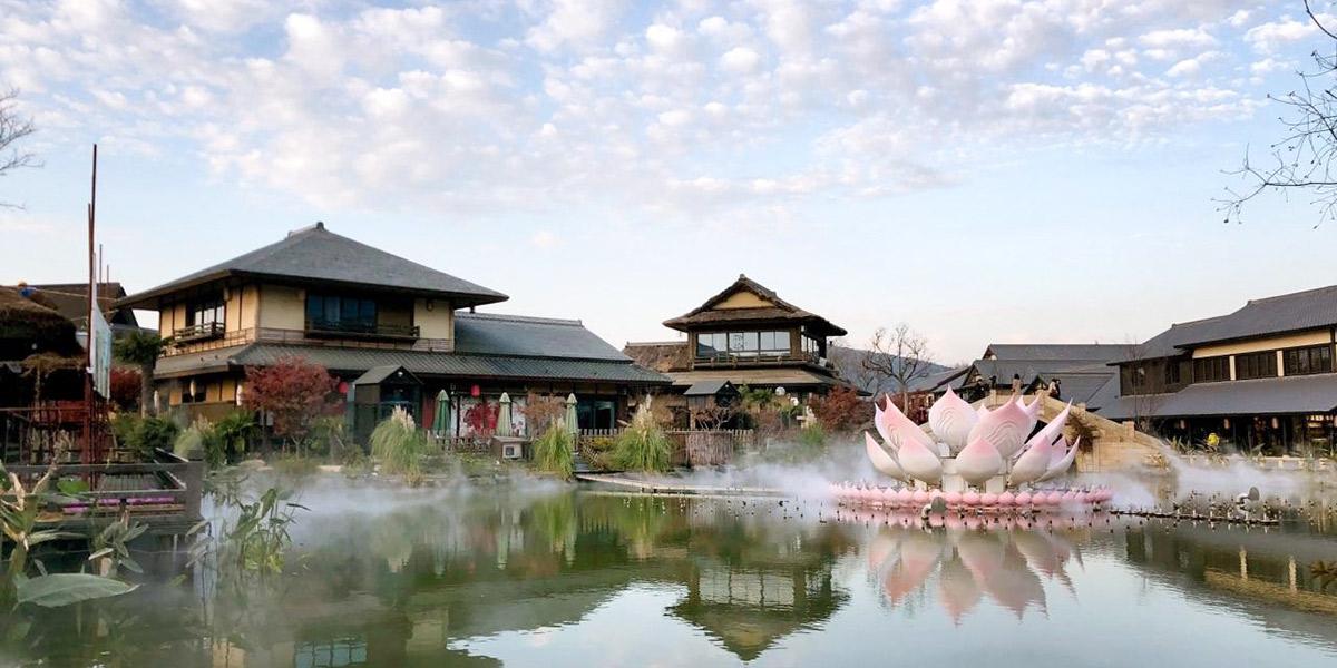 无锡拈花湾禅意小镇木结构建筑(三)