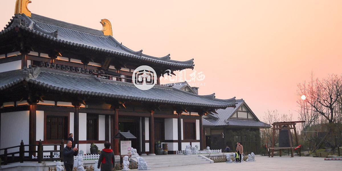 无锡拈花湾禅意小镇木结构建筑(一)