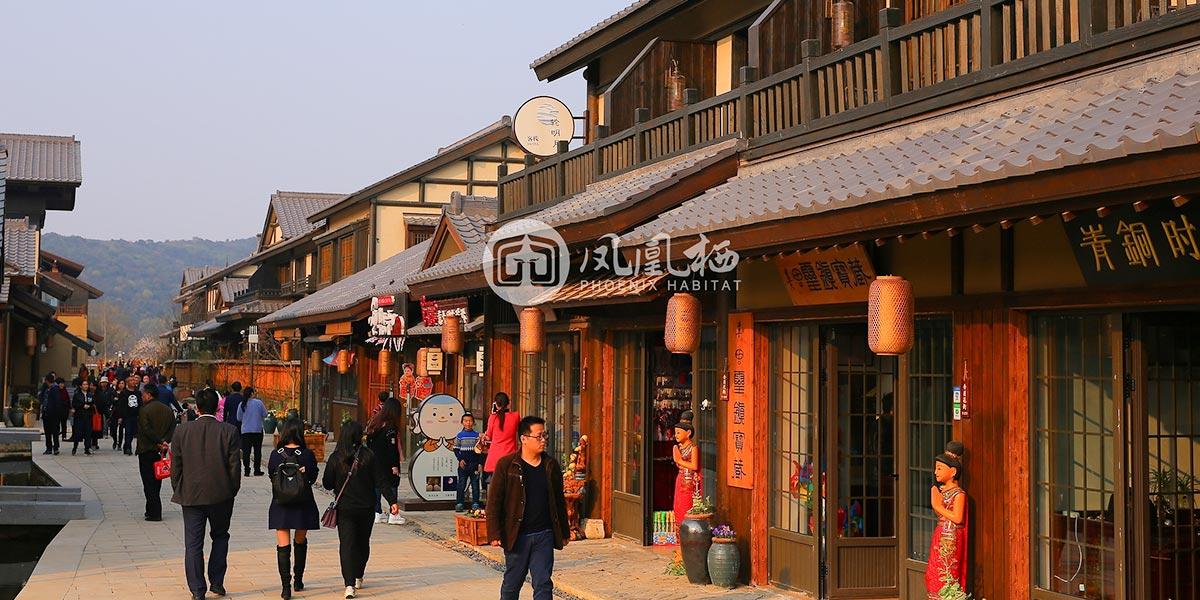 无锡拈花湾禅意小镇木结构建筑细节(三)
