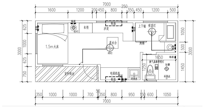 经典C款移动木屋YDZP-004