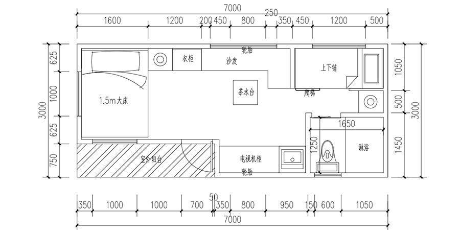 经典D款移动木屋YDZP-005